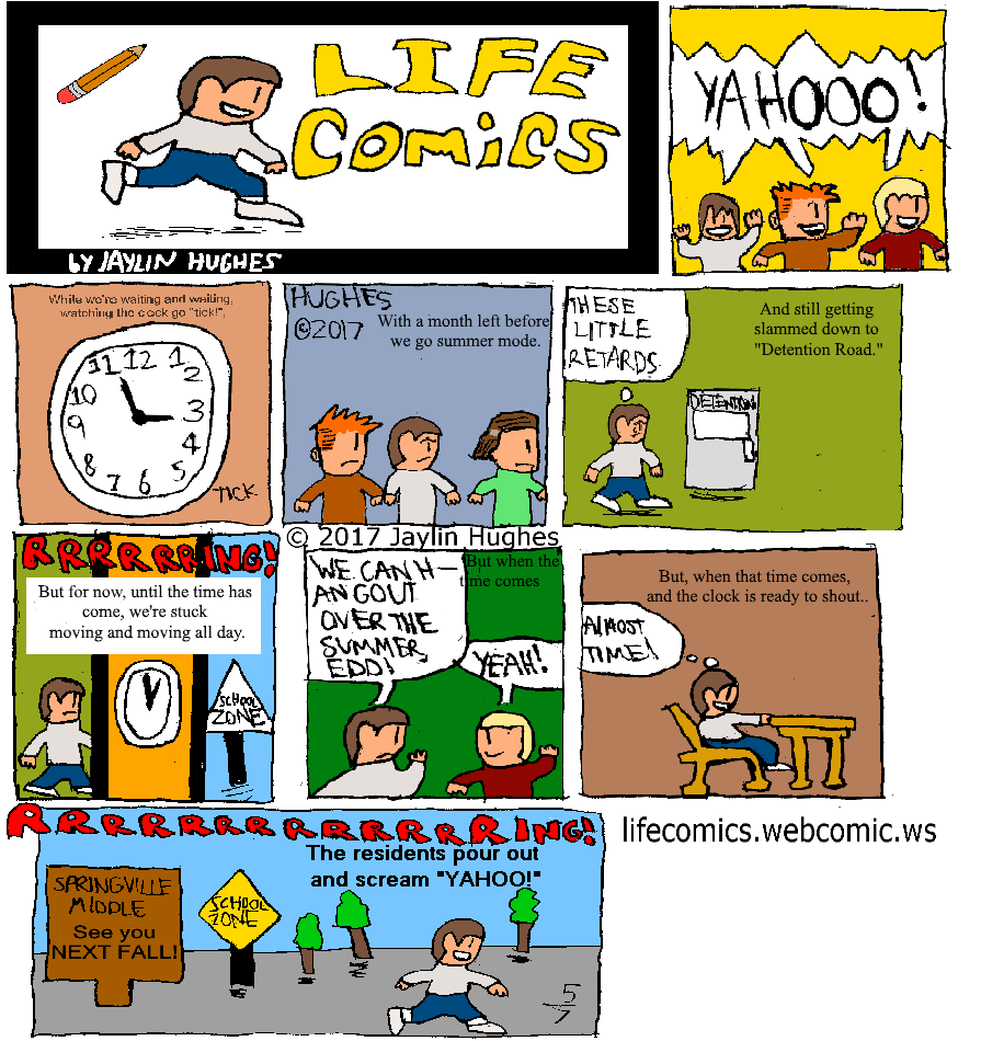 LIFE Comics for May 7, 2017